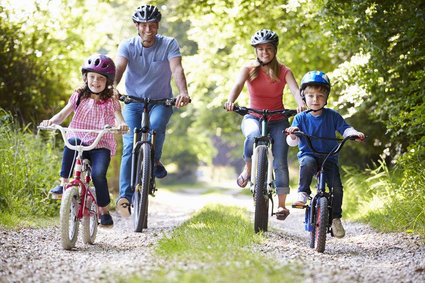 Cykloturistika pre rodiny na Slovnsku