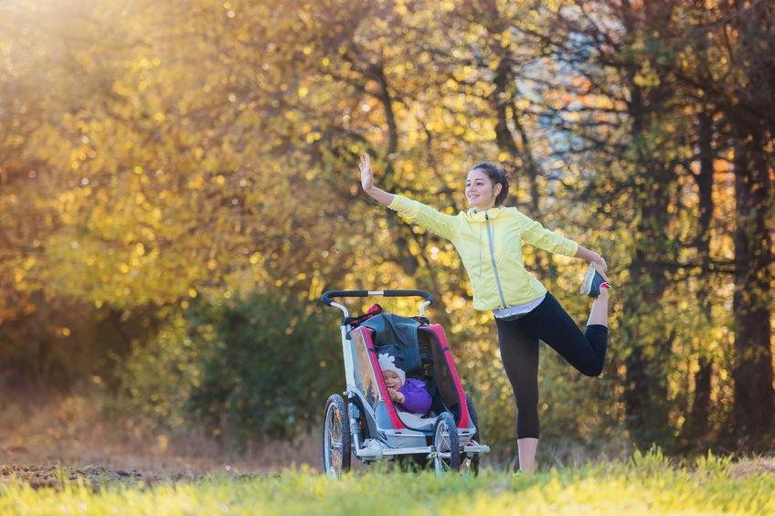 joga napríklad aj počas prechádzky vonku vás po pôrode dostane do formy