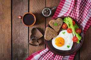 romantické raňajky