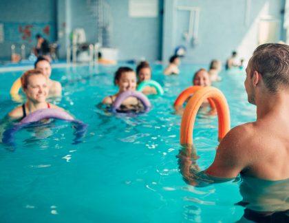 cvičenie vo vode