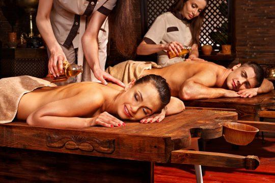 Ajurvédska masáž v indii