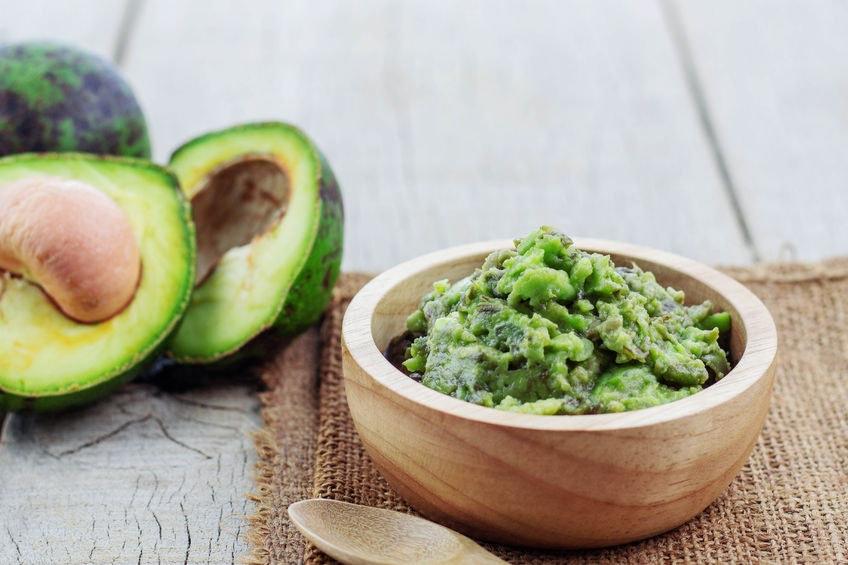 Avokádová nátierka, Guacamole, avokádo