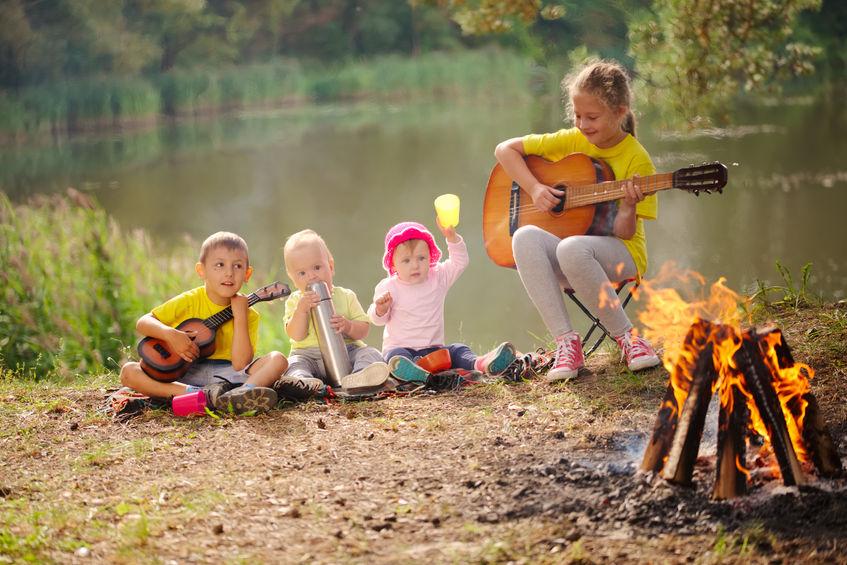Opekačka s detmi v lete - Wellness Magazín