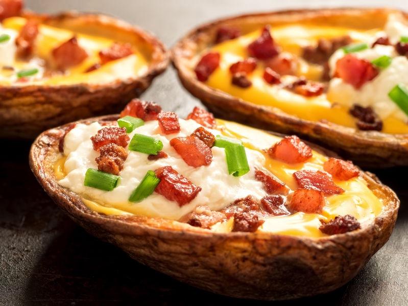 Pečené plnené zemiaky - Wellness Magazín