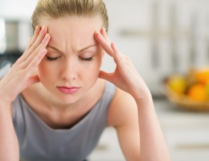 Žena v strese - Wellness Magazín