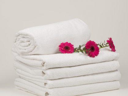 Biela osuška Horeca textil - Wellness Magazín