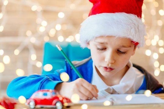 Dieťa píše list Ježiškovi - Wellness Magazín