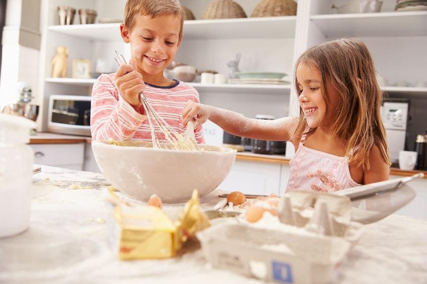 Pečenie s deťmi môže sprevádzať neporiadok - Wellness Magazín