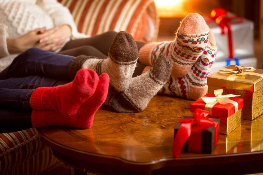 Rodina trávi vianoce doma - Wellness Magazín