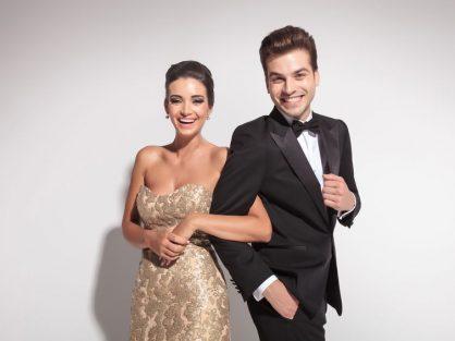 Elegantný pár na plese - Wellness Magazín