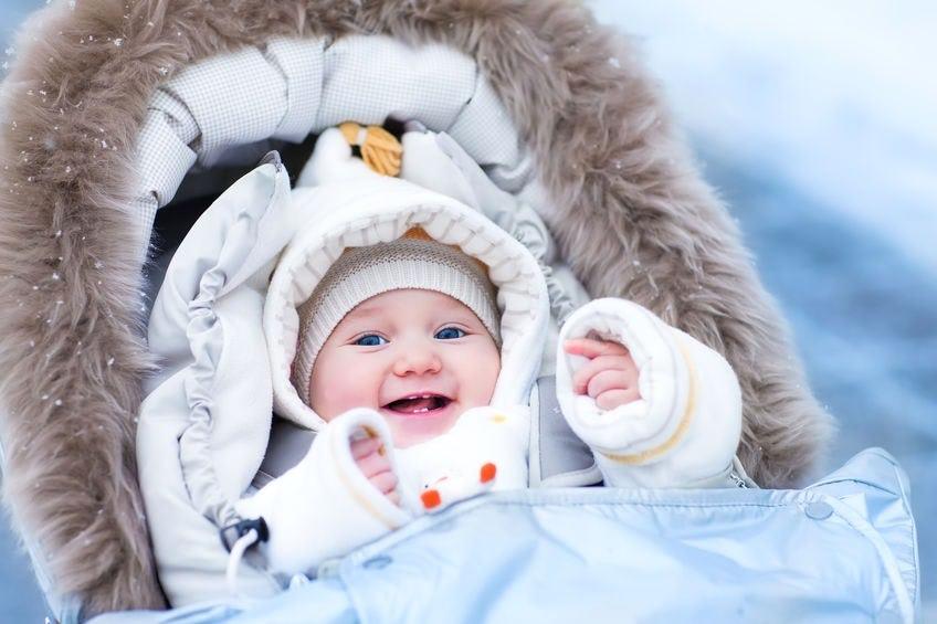 Prechádzka v zime s bábätkom - Wellness Magazín