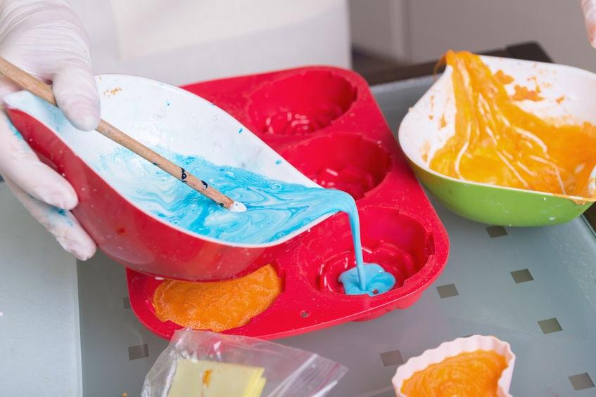 Lianie mydlovej hmoty do formičiek - Wellness magazín