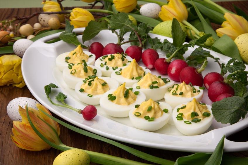 Plnené vajíčka na Veľkú noc