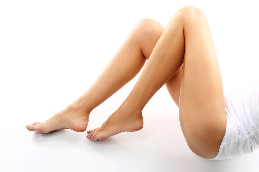 kásne ženské nohy