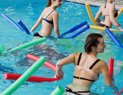 Aqua aerobic - vodné cvičenie v skupine