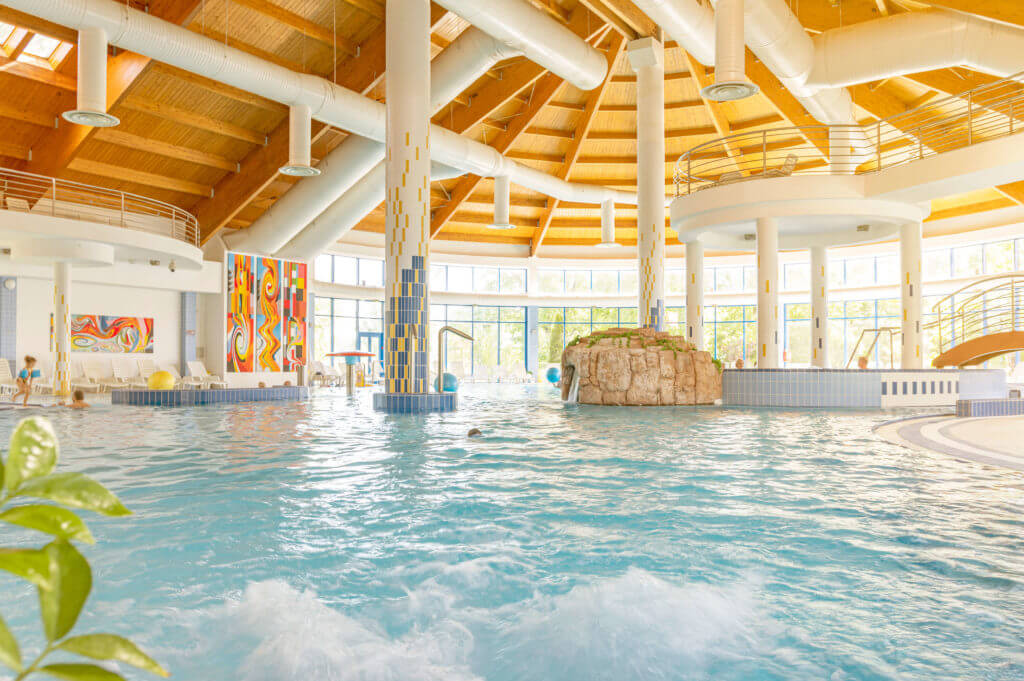 Bazénový svet vo Wellness Hoteli Patience