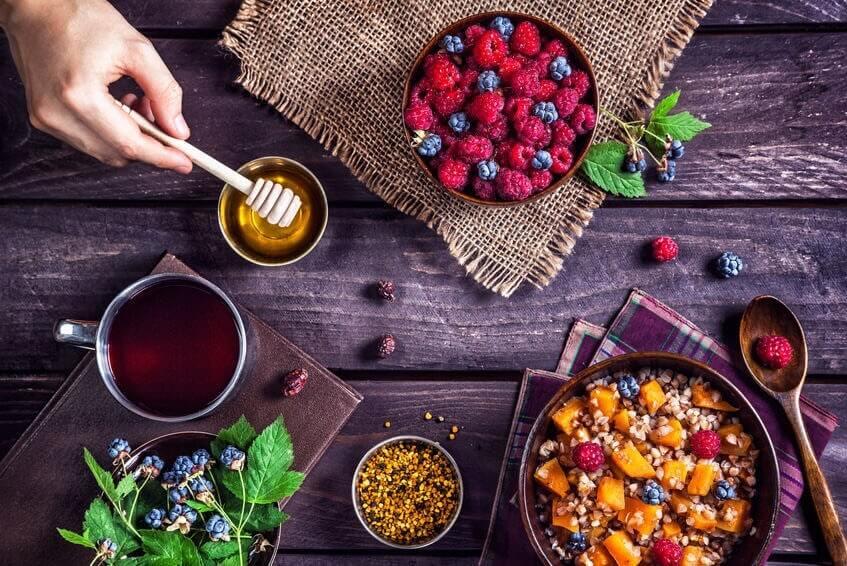 zdravé raňajky vhodné na detox tela