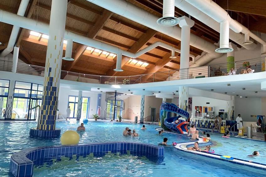 wellness v hoteli Patince bazénový svet