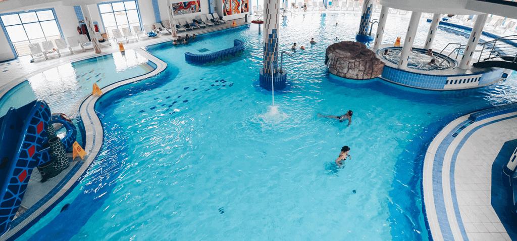 Bazénový svet vo Wellness Hoteli Patince.