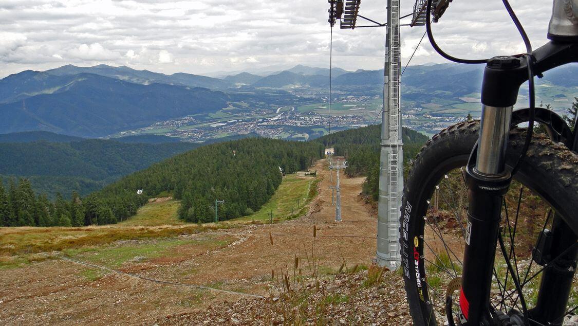 Martinské hole z pohľadu cykloturistu