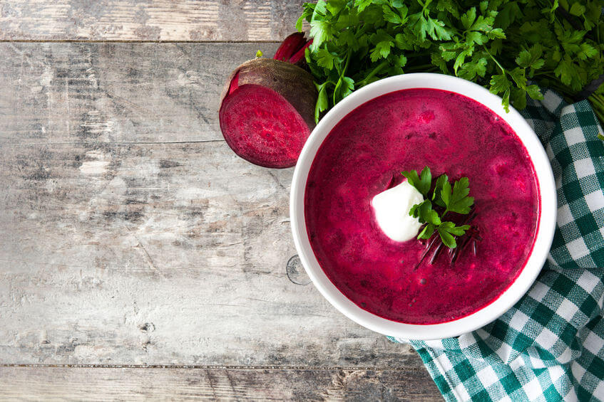 Chutná cviklová polievka
