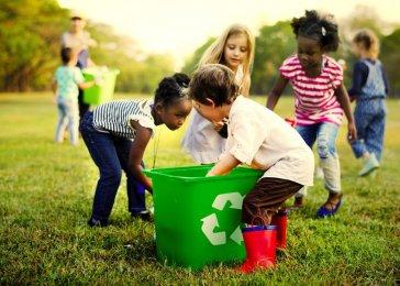 Správne recyklovanie.