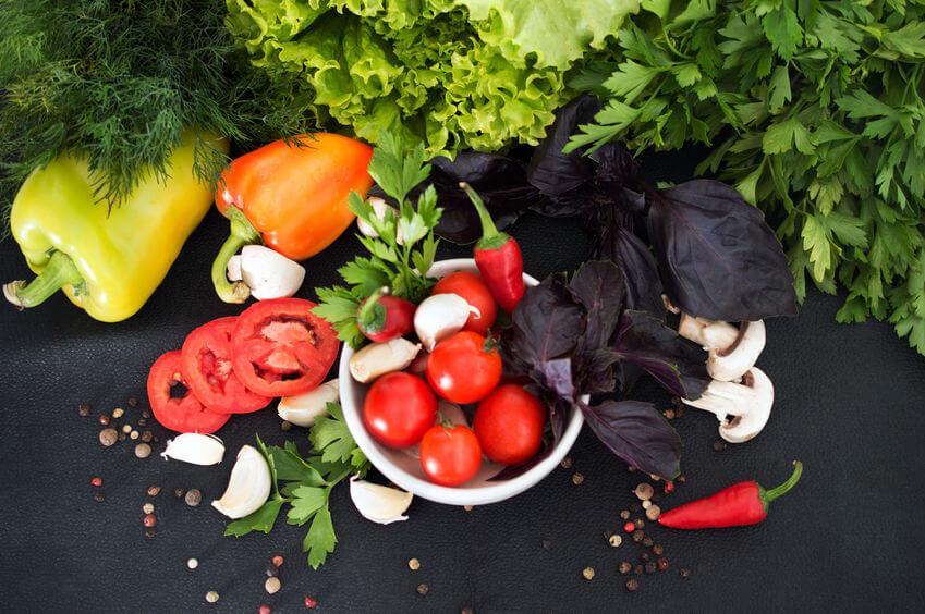 Zdravá strava je základ.