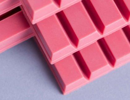 ružová čokoláda