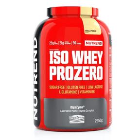 Práškový koncentrát Nutrend ISO WHEY Prozero 2250 g