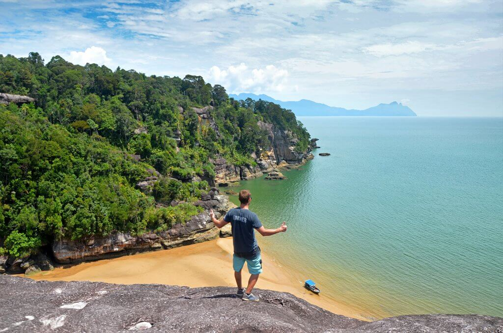 Peter Kincel - panoramatická fotografia z pláže počas cestovania