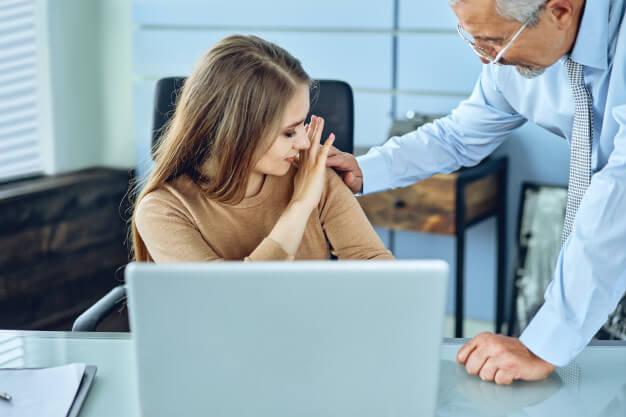 Sexuálne obťažovanie na pracovisku.