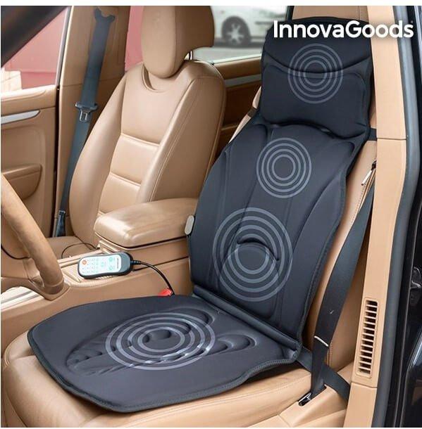 Masážna vyhrievaná podložka SHIATSU do auta od firmy Inova Goods.