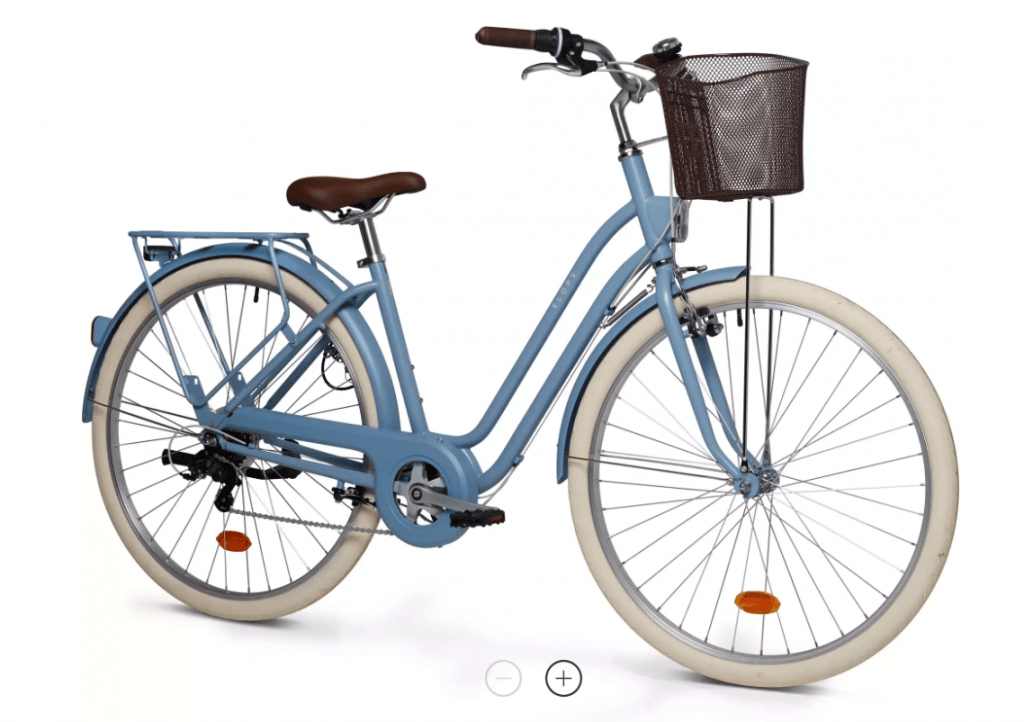 Mestský bicykel od decathlon.sk