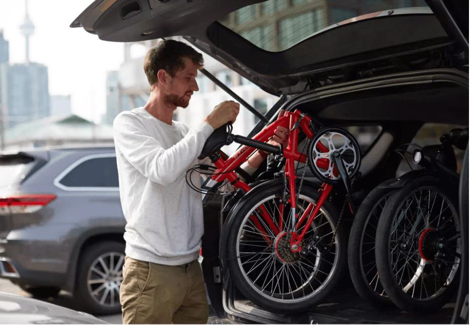Skladací bicykel od decathlon.sk