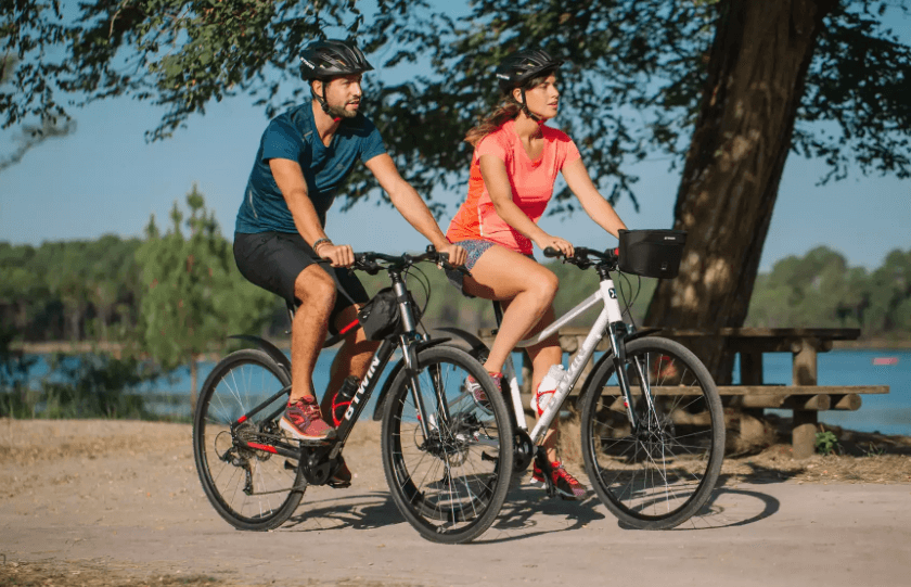Trekingový bicykel od decathlon.sk