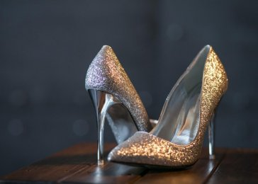 topánky na vysokom podpätku